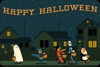 Lễ Hội Hóa Trang Halloween Mẫu Nền Thư