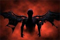 Thiên Thần Của Bóng Đêm Mẫu Nền Thư