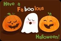 Halloween Dễ Thương Mẫu Nền Thư