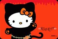 Hello Kitty Halloween Cute Mẫu Nền Thư