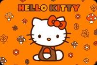 Kitty Tặng Bạn Halloween Vui Vẻ Mẫu Nền Thư