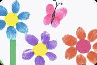 Vẽ Hoa Tặng Mẹ Mẫu Nền Thư