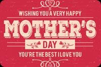 You're The Best Mom Mẫu Nền Thư