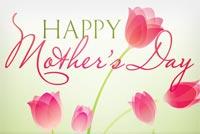 Happy Mother's Day Mẫu Nền Thư