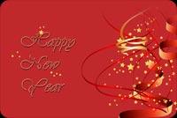Chúc Mừng Năm Mới Mẫu Nền Thư