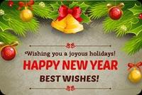 Chúc Bạn Một Năm Mới Thật An Lành Mẫu Nền Thư