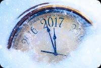 Sắp Qua Năm Mới 2017 Mẫu Nền Thư