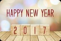 Happy New Year 2017 Mẫu Nền Thư
