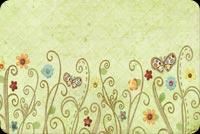 Hoa Bướm Ngày Xuân Mẫu Nền Thư