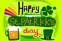 St Patrick's Day Vui Vẻ Mẫu Nền Thư