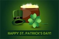 Ngày Thánh Patrick An Lành Mẫu Nền Thư