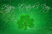 St. Patrick's Day Kỳ Diệu Mẫu Nền Thư