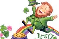 Luck O The Irish Mẫu Nền Thư