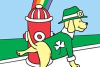 Hap-pee St. Patrick's Day Mẫu Nền Thư