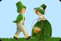 Mừng Ngày Thánh Patrick Mẫu Nền Thư