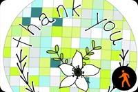 Cảm Ơn Thank You Mẫu Nền Thư