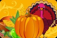 Have A Happy Turkey Day Mẫu Nền Thư
