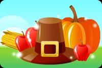 Thanksgiving Chúc Bình An Mẫu Nền Thư
