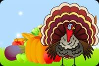 Special Thanksgiving Turkey Mẫu Nền Thư