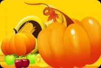 Thanksgiving An Lành Mẫu Nền Thư