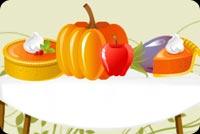 Bữa Tiệc Thanksgiving Mẫu Nền Thư