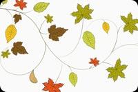 Lá Thu Happy Thanksgiving Mẫu Nền Thư