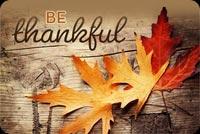 Be Thankful Mẫu Nền Thư