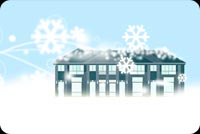 Tuyết Rơi Phủ Nhà Tôi Mẫu Nền Thư