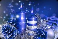 Giáng Sinh Xanh Mẫu Nền Thư